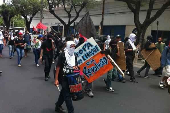 Passeata do Movimento Passe Livre. Foto: Pedro Henrique Cunha/Esp. DP/D.A Press -