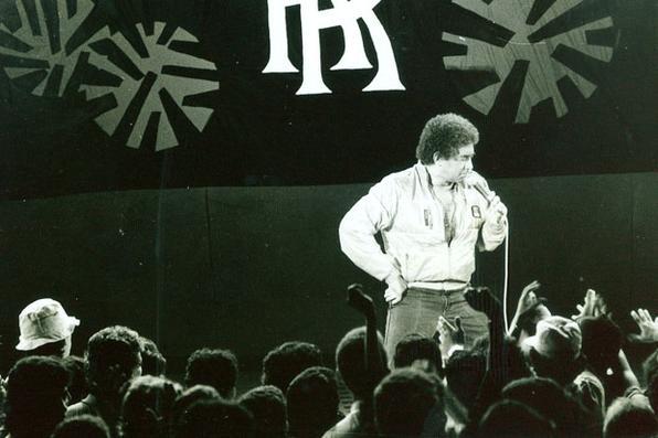 Entre as décadas de 1980 e 1990, Rossi comandou o programa de auditório Reginaldo Rei, da TV Pernambuco. Foto: Fred Jordão/Divulgação  -