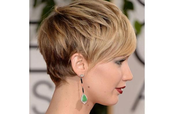 A atriz Jennifer Lawrence - Fotos oficiais do GoldenGlobe.com