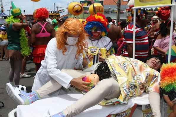 A ''Delícia'' veio ter seu filho nas Virgens do Bairro Novo. Foto: Júlio Jacobina/DP/D.A Press - Júlio Jacobina/DP/D.A Press