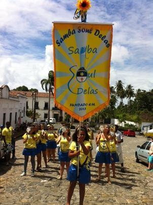 As ladeiras de Olinda se preparam para receber milhares de foliões. Samba soul delas saindo do mosteiro de são Bento. Foto: Rosália Vasconcelos/DP/D.A Press -