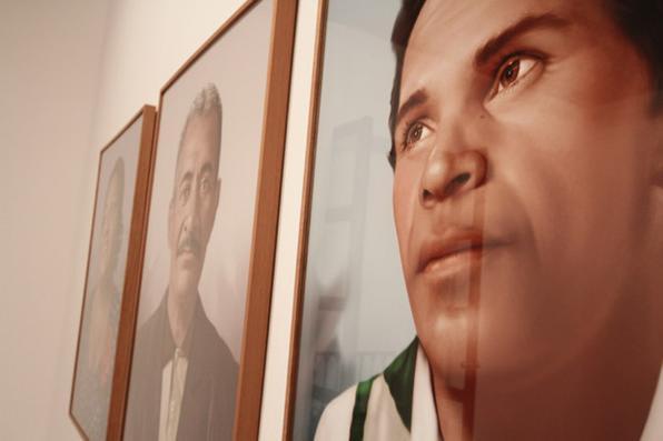 Exposição montada no Mamam, com curadoria de Moacir dos Anjos, reflete sobre a invisibilidade. Foto: Alcione Ferreira/DP/D.A Press -