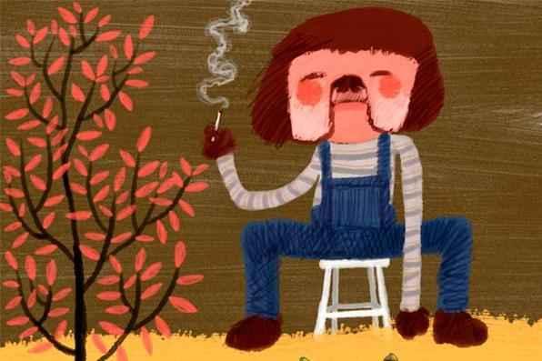 ''Um desenho'', por Greg -