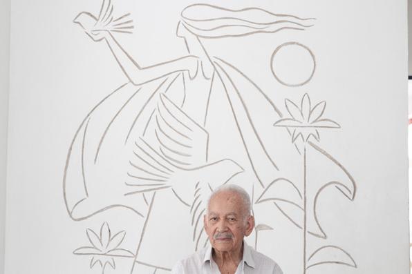Exposição Corbiniano - 60 anos de arte, retrospectiva da obra de Corbiniano Lins no Museu Murillo La Greca. Foto: Alcione Ferreira/DP/D.A Press -