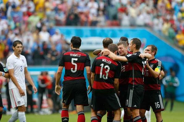 Alemanha vence EUA na Arena PE. Foto: Ricardo Fernandes/DP/D.A Press -