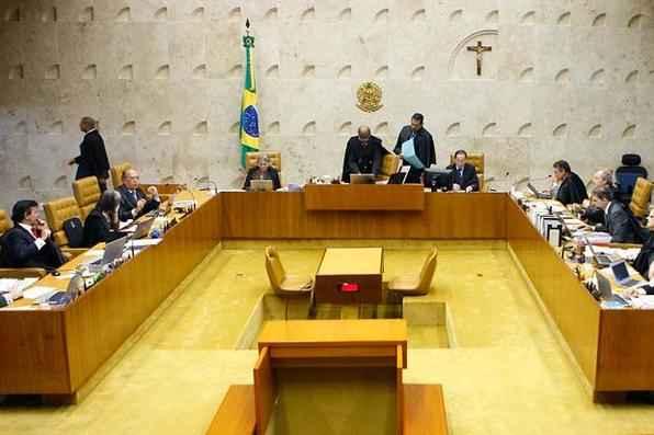 O presidente do Supremo Tribunal Federal (STF), Joaquim Barbosa, participa nesta terça-feira (1°) de sua última sessão como ministro da Corte. Barbosa assumiu a função em 2003 e se aposentará aos 59 anos. Foto: Nelson Jr./SCO/STF  -