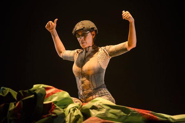 ''Terra'' ganhou apresentação única no Teatro Luiz Mendonça, dentro da programação da Mostra Brasileira. Foto: Rogério Alves/Sobrado 423 -
