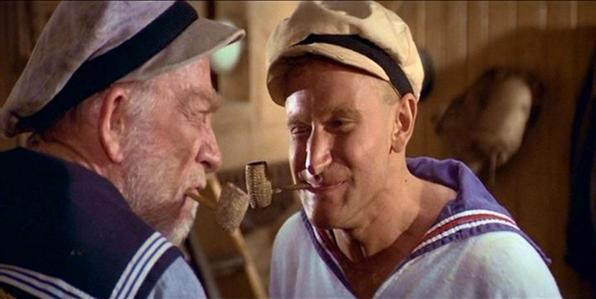 Popeye (1980) - Adaptação dos quadrinhos do famoso marinheiro foi um dos primeiros destaques de Robin Williams no cinema. Foto: Fox Filmes/Divulgação -  Fox Filmes/Divulgação