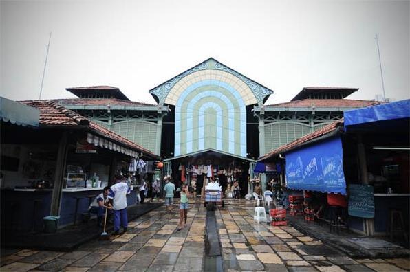 O mais antigo mercado público do Brasil, o Mercado de São José, completa 139 anos neste domingo, sete de setembro. Foto: Alcione Ferreira/DP/D.A Press/Arquivo -