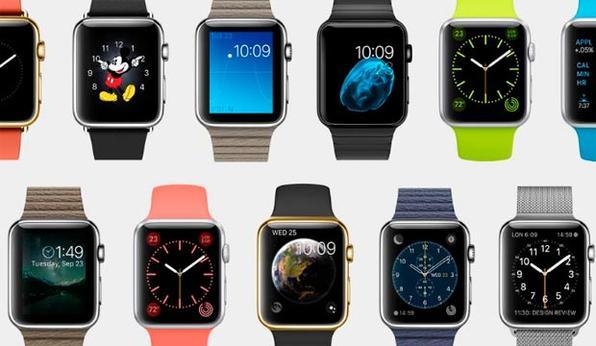 Após a apresentação dos smartphones, Tim Cook anunciou um produto que ele definiu como capaz de redefinir totalmente o que as pessoas esperam desta categoria: o Apple Watch, um relógio inteligente. -