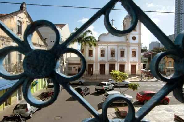 Pátio de Santa Cruz volta a ser ponto de encontro. Foto: Annaclarice Almeida/DP/DA Press -