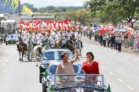 Dilma Rousseff toma posse do segundo mandato na Presid�ncia da Rep�blica (Dilma Rousseff toma posse do segundo mandato na Presid�ncia da Rep�blica)