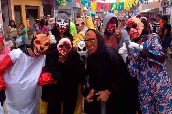 Os Papangus já circulam na cidade de Bezerros, no Agreste pernambucano. Foto: Teresa Maia/DP/D.A Press -