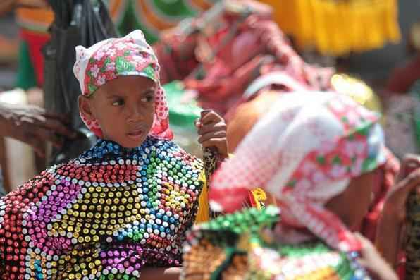 Tradicional encontro dos Maracatus de Baque Solto. Fotos Annaclarice Almeida/DP/D.A Press. -