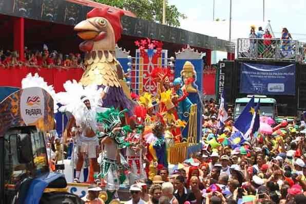 O Galo reinou no sábado de carnaval. Foto: Paulo Paiva/DP/D.A Press -