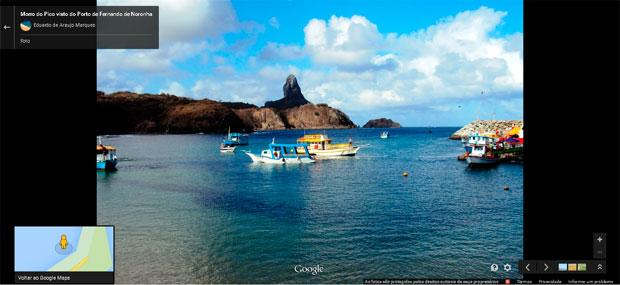 Fernando de Noronha j� est� dispon�vel no Google Street View (Mapeamento da ilha estava sendo realizado desde o fim de 2014)