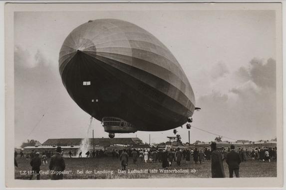 Chegada do Graf Zeppelin ao Recife completa 85 anos