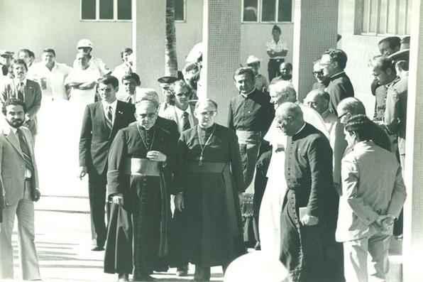 Visita do Papa João Paulo II ao Recife em 1980 - Edvaldo Rodrigues/DP/D.A Press