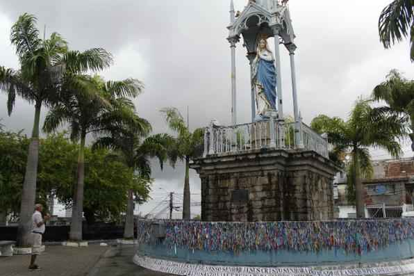 Velário do Morro da Conceição à espera de reforma. Foto: Rodrigo Silva/Esp. DP/DA Press -