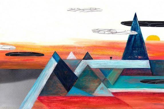obra de Anabella López, que venceu o prêmio Jabuti de melhor ilustração infantil com a arte do livro A Força da Palmeira