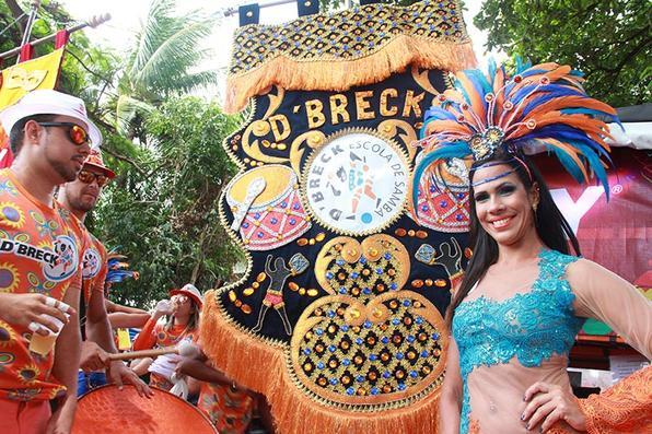 Foliões aproveitam a terça de carnaval em Olinda. Foto: Brenda Alcântara/Esp DP -