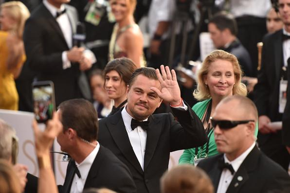 Ator- Leonardo DiCaprio, ''O Regresso''.  Foto: Mike Windle/Getty Images/AFP - Mike Windle/Getty Images/AFP