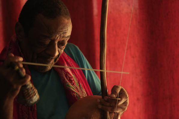 O percussionista Naná Vasconcelos  morre aos 71 anos vítima de câncer, no Recife. Foto: Rafael Martins/Esp. DP -