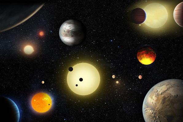 Missão Kepler da NASA verificou 1.284 novos planetas,  a maior descoberta de planetas até hoje. Foto: W. Stenzel/ NASA -