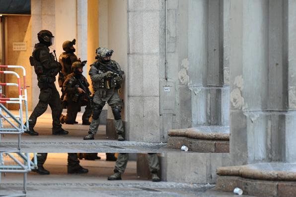 Atirador mata 9 e se suicida em Munique, na Alemanha. Foto: AFP Photo. -