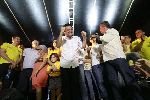 Eleições 2016 (Geraldo Julio é reeleito prefeito do Recife.   Foto: Rafael Martins/ Esp. DP)