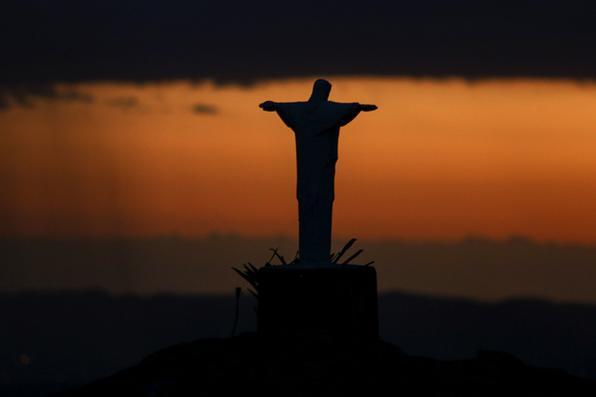 Cristo Redentor no município de Triunfo. Foto: Peu Ricardo/Esp. DP -