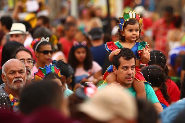 Blocos tomam conta das ruas de Olinda e Recife no último dia de Carnaval.Foto: Peu Ricardo/Esp. DP -
