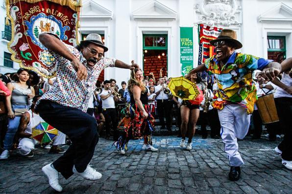 Bairro do Recife tem Arrastão  do Frevo . Foto: Rafael Martins/ DP. -