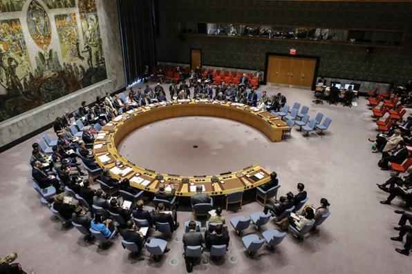 O Conselho de Segurança da ONU se reúne em carater de  emergência,  para discutir  sobre o último  teste nuclear da Coréia do Norte, em Nova York. Foto: AFP PHOTO / KENA BETANCUR -