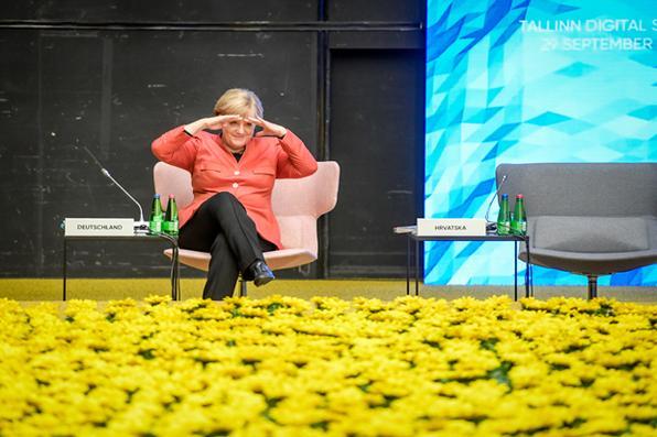Alemanha tem o menor índice de desemprego desde a reunificação. A força do mercado de trabalho é tamanha que a chanceler Angela Merkel prometeu o pleno emprego até 2025, ou seja, um índice de desemprego ao redor de 3%, durante a recente campanha eleitoral. Foto:  AFP PHOTO / Ilmars ZNOTINS -