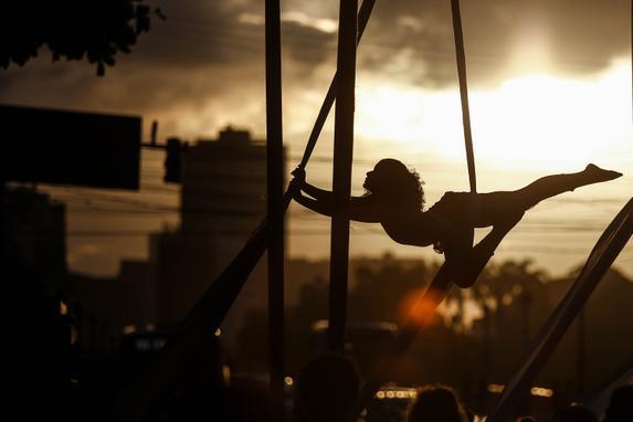 FESTIVAL R.U.A. - RECIFE (O Festival R.U.A.- Recife Urbana Arte vem movimentando o Bairro do Recife desde a manhã deste domingo (29). Foto: Paulo Paiva / DP.)