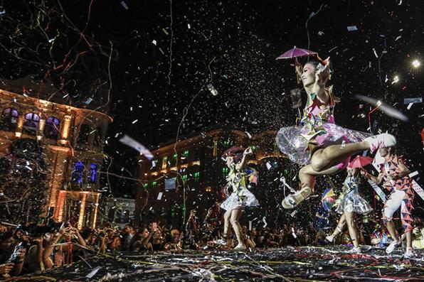 Abertura do Carnaval do Recife, na Praça do Marco Zero. Foto: Paulo Paiva / DP FOTO. -