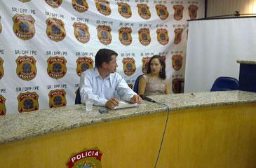 A Polícia Federal (PF) informou que o irmão do radialista Rodrigo Vieira Emereciano, de 35 anos, o Mução, foi o responsável pelo crime de pedofilia na internet (Wagner Oliveira/DP/D.A Press)