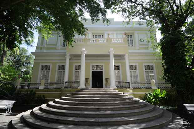 Museu do Estado de Pernambuco � abrigado no palacete do s�culo XIX era a resid�ncia do famoso Bar�o de Beberibe. Foto: Alcione Ferreira/DP/D.A Press