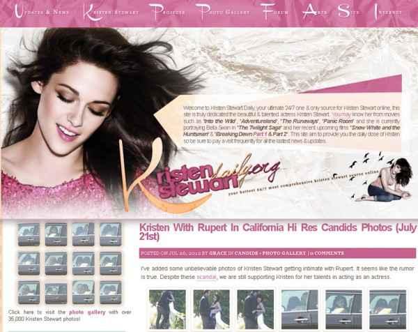 Site de fãs da cantora divulgou as novas imagens. Foto: KristenStewartDaily.Org/ Reprodução (Site de fãs da cantora divulgou as novas imagens. Foto: KristenStewartDaily.Org/ Reprodução)