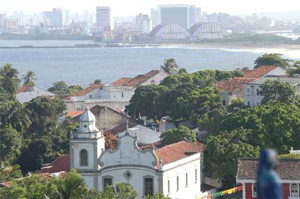 Vista do Alto da S�, em Olinda. Foto: Jaqueline Maia/DP/D.A Press