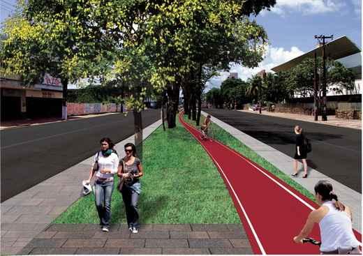 Projeto est� em fase de licita��o.       (Secretaria das Cidades/Divulgacao. )