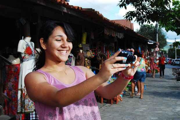 Bianca Cristina representando a cidade de Gravatá. Foto: Paulo Paiva/Esp. DP/D.A Press