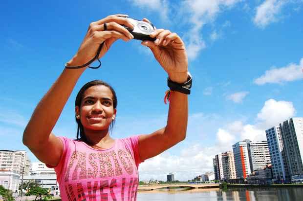 A cidade do Recife está representada por Tamires. Foto: Paulo Paiva/Esp. DP/D.A Press