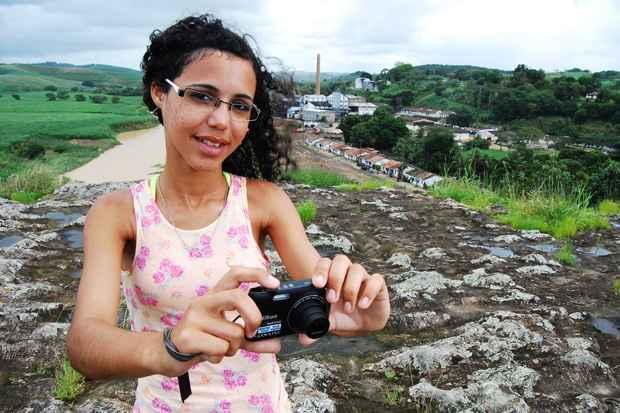 Meiry Hely representa a cidade de Ipojuca. Foto: Paulo Paiva/Esp. DP/D.A Press