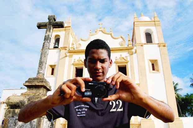 E Welbert é o Embaixador de Olinda. Foto: Paulo Paiva/Esp. DP/D.A Press