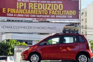 IPI para carro zero permanece reduzido por mais dois meses. Ana Amaral/DN/DN/D.A Press/Arquivo