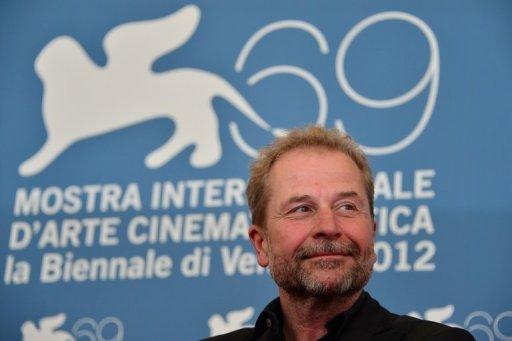 O diretor austríaco Ulrich Seidl apresenta Paradise Faith no Festival de Veneza em nesta sexta. Foto: AFP Gabriel Bouys