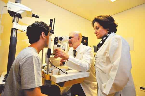 Ricardo e Márcia Guimarães: Irlen é síndrome neurológica complexa. Foto: Alexandre Guzanshe /EM/D.A. Press