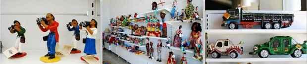 Local é uma grande loja pois todas as peças estão à venda. Fotos: Annaclarice Almeida/ DP/ D.A.Press